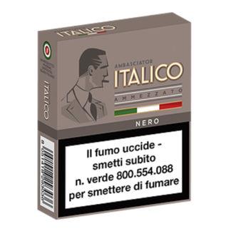 Italico ammezzato nero