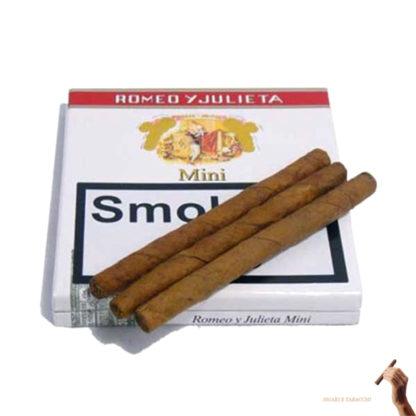 Romeo y julieta mini 10 sigaretti cubani