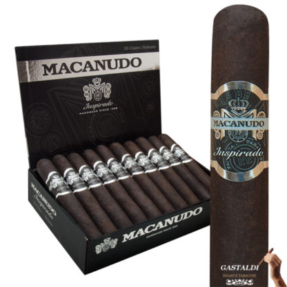 macanudo inspirado black robusto sigaro
